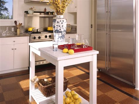 islands in small kitchens freestanding kitchen islands hgtv