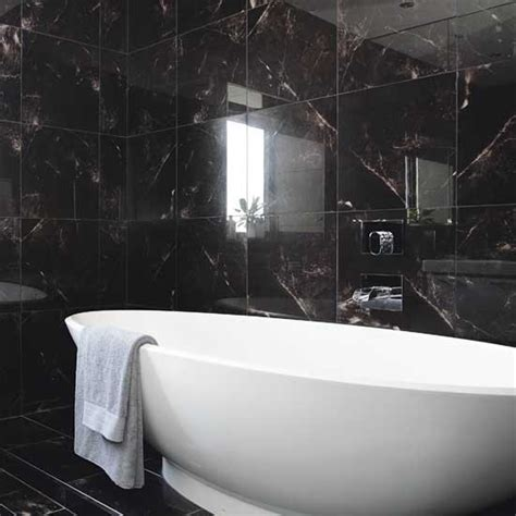 Black Bathrooms Ideas Black Bathroom Bathrooms Decorating Ideas Housetohome Co Uk