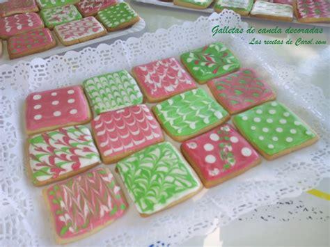 receta de galletas para decorar con glasa o fondant galletas decoradas con glasa verdes y rosas las recetas
