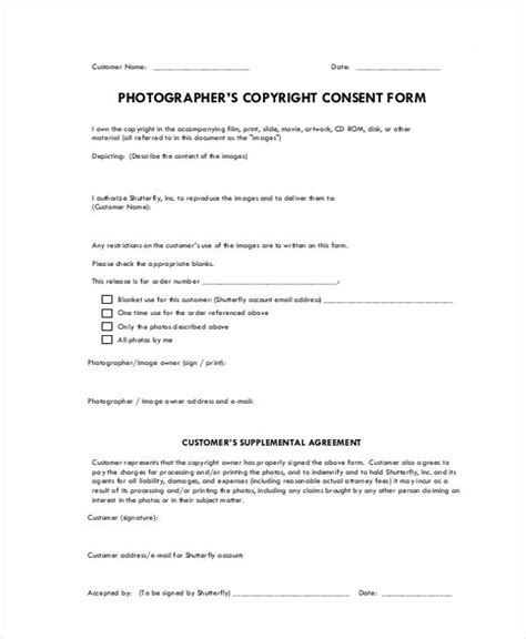 20 print release forms in pdf