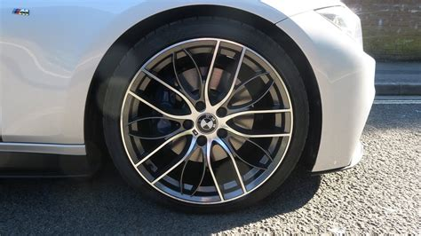 bmw m sport wheels bmw m performance 405m replica wheels gunmetal m sport
