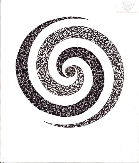 spiral tattoo meaning spiral design image ideas
