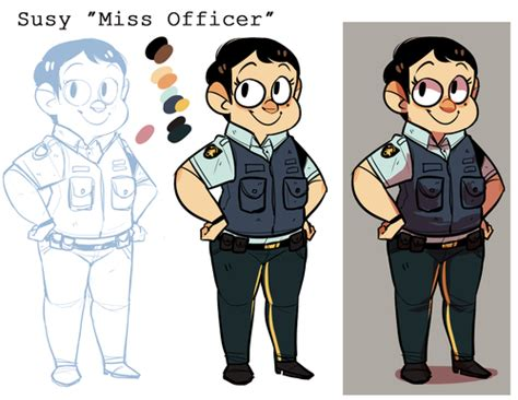 Miss Officer miss officer and mr truffles