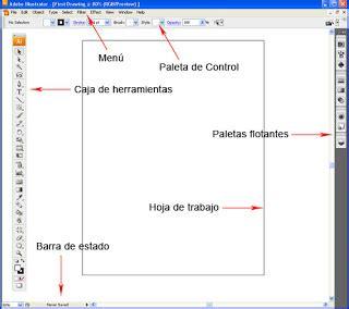 barra de herramientas superior illustrator fernando lizama osorio tutorial de adobe ilustrator cs3