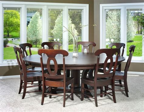 round table dining room furniture best 25 large round dining table ideas on pinterest