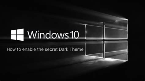 themes for windows 10 pro free download enable dark theme mode in windows 10 here s how redmond pie