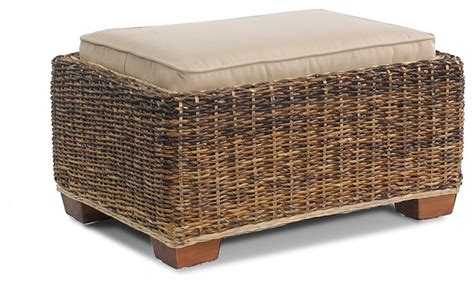 Seagrass Storage Ottoman St Kitts Seagrass Ottoman Contemporary Furniture New York By Wicker Paradise
