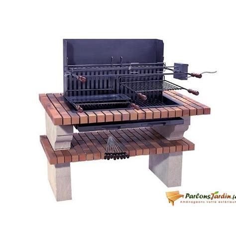 Foyer Barbecue Encastrable 249 by Barbecue En De Sireuil Caraibes Achat Vente