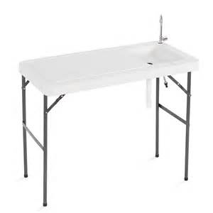 fish cleaning table folding station portable c