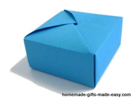How To Make Your Own Paper Box - byarina s made how to make a box without glue cara