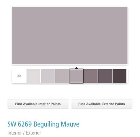sherwin williams sw  beguiling mauve mauve living room paint colors  home purple