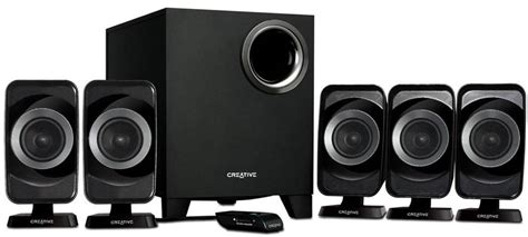 Creative Speaker 5 1 creative launches new 2 1 and 5 1 speaker systems in india