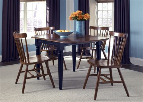 Creations Dining Room by Creations Ii Black Tobacco Drop Leaf Dining Room Set