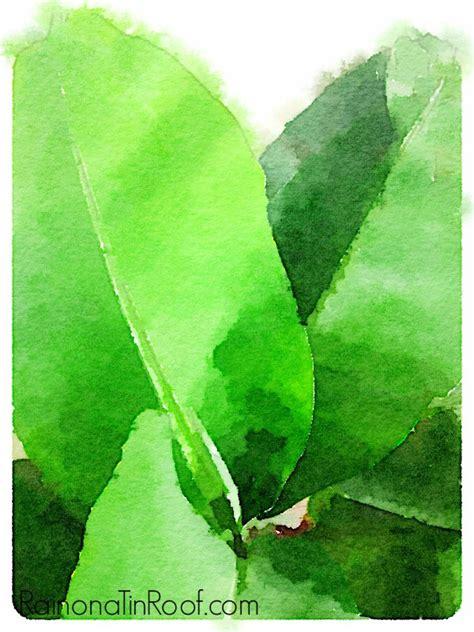 free printable green leaves free banana leaves watercolor printables