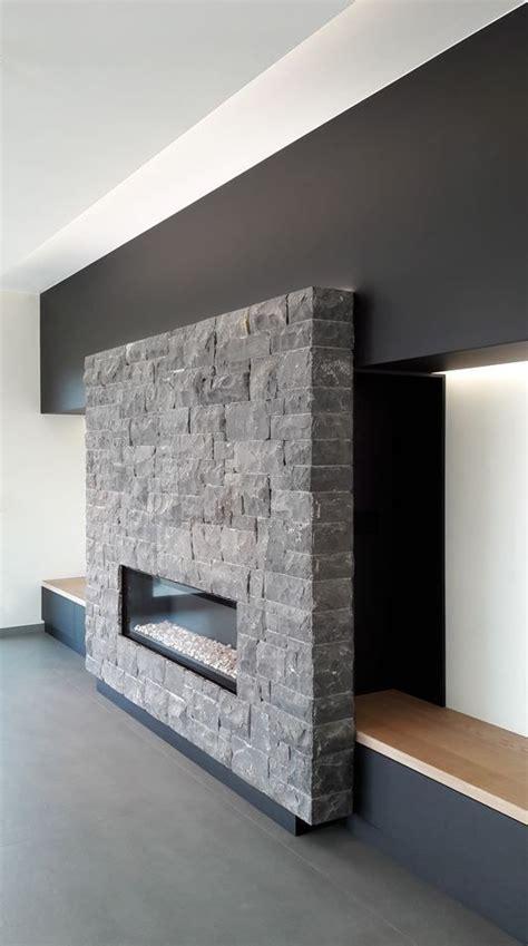 camini contemporanei a contemporary corner fireplace design texture