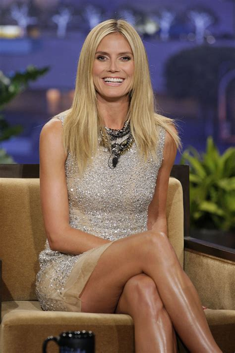 why are tamrons legs always shiny heidi klum continues the weird phenomenon of the quot shiny