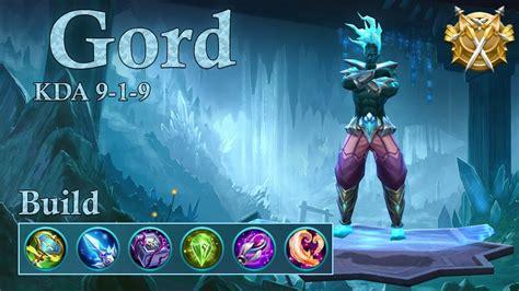 mobile legends gord gameplay combo  quadra kill