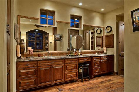 Country Master Bathroom Ideas Hill Country Ranch Master Bathroom Traditional