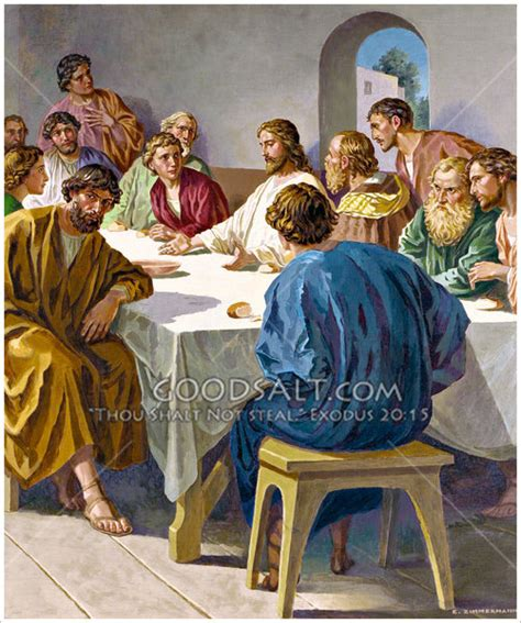 Bible Wedding Supper by Last Supper