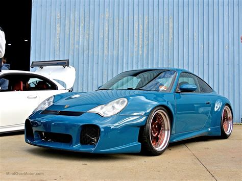 stanced porsche stanced porsche 996 at first class fitment mind over motor