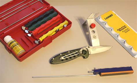 knife sharpening kit lansky knife sharpening system standard deluxe