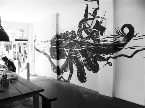 cool wall murals foggyland a from subeternal design really cool wall mural