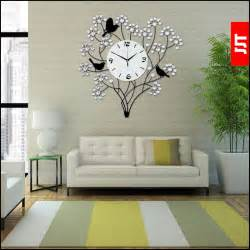 Living Room Clocks by Luminousness Large Living Room Decoration Wall Clock