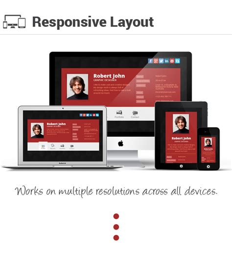 responsive layout maker pro youtube premium responsive vcard resume manager by sheensol