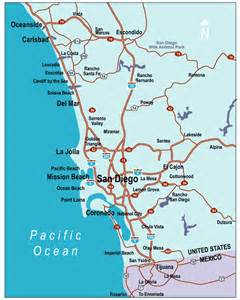 Map San Diego County by San Diego County Map