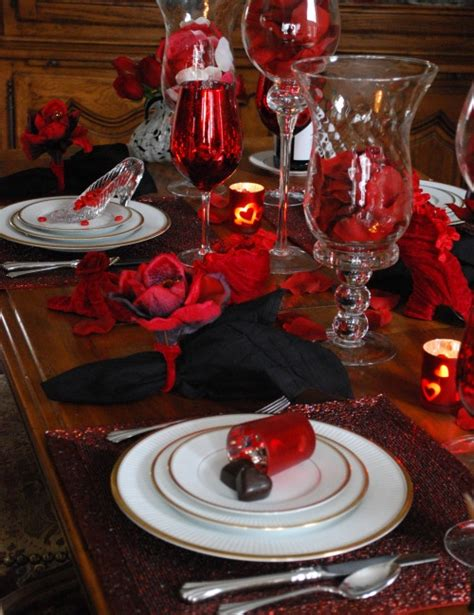 valentines day tablescapes