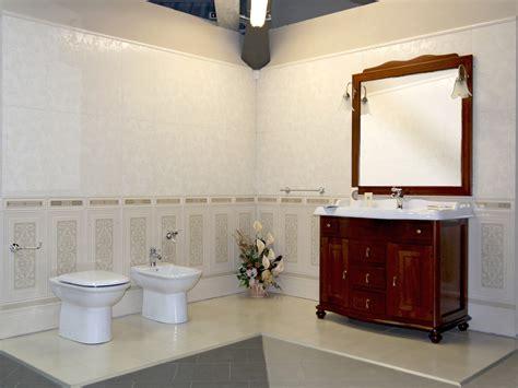 rivestimento bagno classico moderno boiserie piemme ceramiche mobile tudor