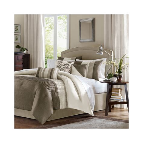 7 Comforter Set Cheap by Cheap Park Dartmouth 7 Pc Jacquard Comforter Set