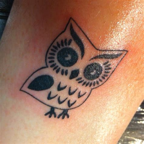 simple owl tattoo best 25 simple owl ideas that you will like on