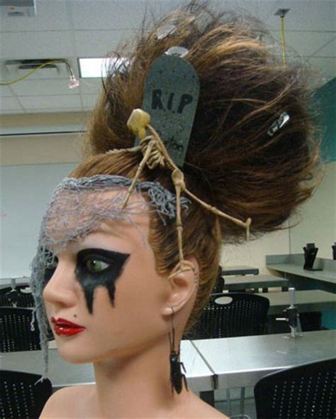 crazy scary halloween hairstyle ideas  kids