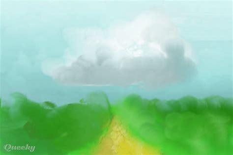 Landscape Pictures Blurry Blurry Landscape A Landscape Speedpaint Drawing By