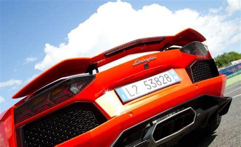 Lamborghini Aventador With Spoiler Lamborghini Aventador Lp 700 4 Rear Spoiler Teamspeed