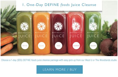 Define Detox by Introducing Define Foods Winter Cleanse Packages Define