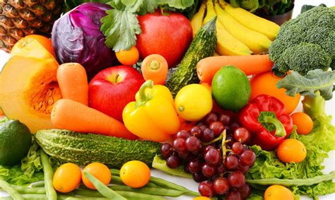 frutas y verduras la importancia de incluir frutas y verduras en la dieta