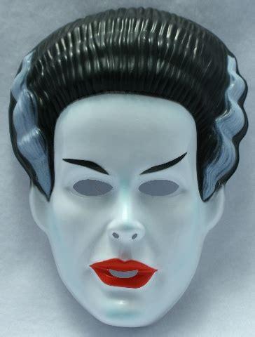 vintage  bride  frankenstein halloween mask rubies