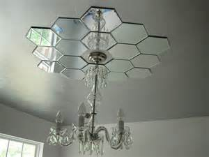 2 Story Foyer Chandelier Faux Daddy Designs Mirrored Ceiling Medallion