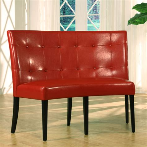 Height Of Banquette Seating modus bossa dining height leatherette banquette beyond