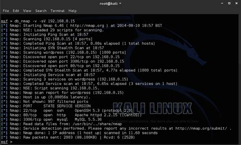 kali linux terminal tutorial metasploit tutorial for beginners