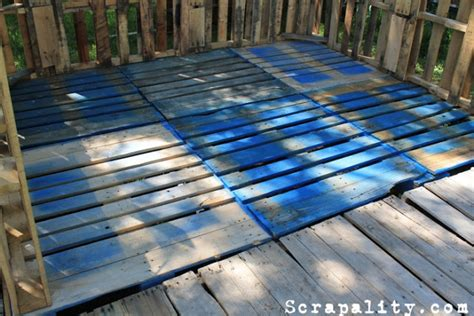 rustic shed   pallets  tin cans scrapality