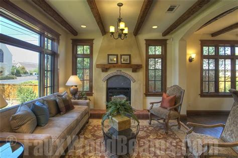 Wood Beams In Living Room by Treat Your Living Room To A Makeover Faux Wood Workshop