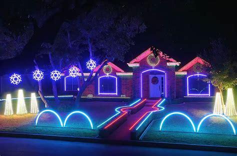 christmas light show san marino san antonio home s jaw dropping lights show goes viral
