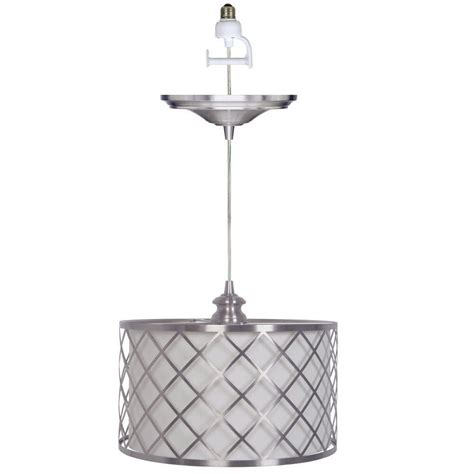 home lighting collections home decorators collection paula 1 light brushed nickel