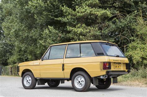 colin chapman s range rover classic
