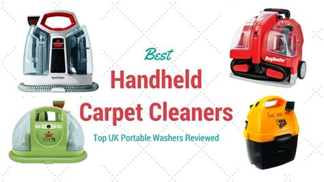 Best Handheld Carpet Cleaner: Top UK Portable Washers