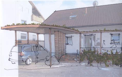veranda vor dem haus architekturb 252 ro brinkmann skizzen entwurf