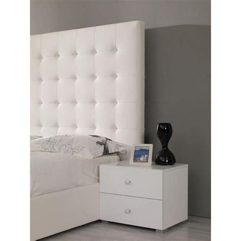 white bedroom nightstands lyrica white nightstand by vig furniture all world furniture